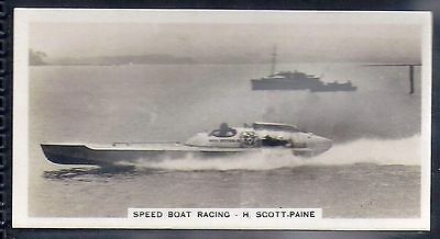 Pattreiouex-Sporting Celebrities (F54)-#27- Speed Boat Racing - Scott-Paine