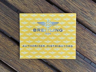 Breitling Authorized Distributors Booklet [Book, Card, Trifold] (1)