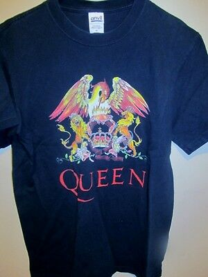 Vintage QUEEN tour shirt , Freedie - Brian - John - Roger , medium