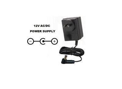 12V AC/DC POWER SUPPLY ADAPTER FOR M-AUDIO/REPLACEMENT FOR MAUDIO/ 12 VOLT 240v