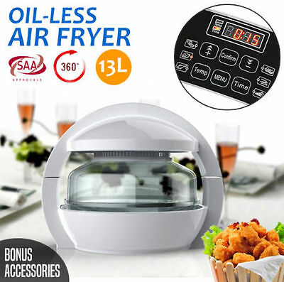 1300w 13L LCD Multifuctional Air Fryer Cooker Healthy Low Fat Oil Free Kitchen