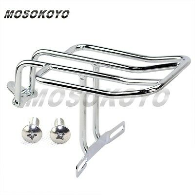 Chrome New Rear Fender Luggage Rack Custom For Sportster 1000 1100 1200 883 AU