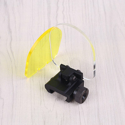 Outdoor Scope Sight Lens Protector Cover Shield Hunting Paintball Game
