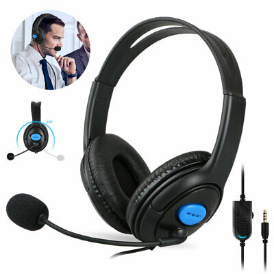 3.5mm Gaming Headset Stereo Surround Mic Headphones for Laptop PS4 Xbox ONE 360E