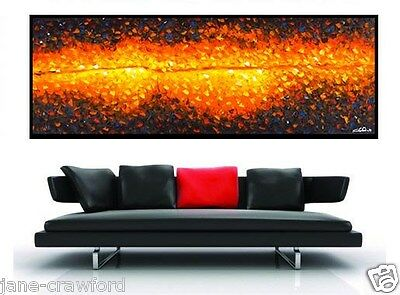 original Art oil  Painting canvas modern Australian non aboriginal wall decor