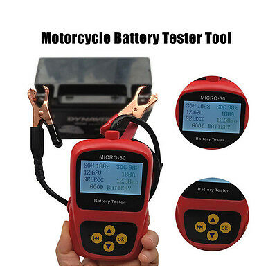 Professional Motorcycle battery tester MICRO-30