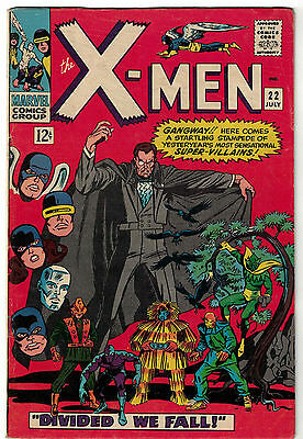 Marvel Comics THE X-MEN Issue 22 Divided We Fall! VG+