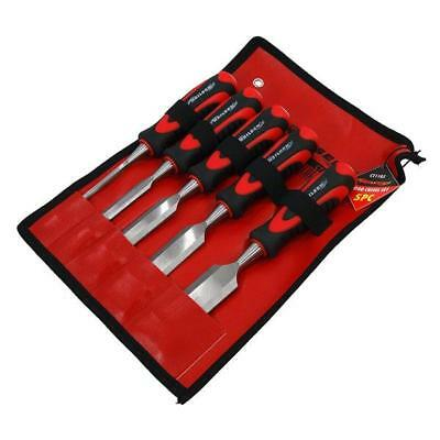 NEW 6PC CARPENTERS QUALITY WOOD CHISEL SET 6, 12, 19, 25, 32 and 38mm  FREEPOST!