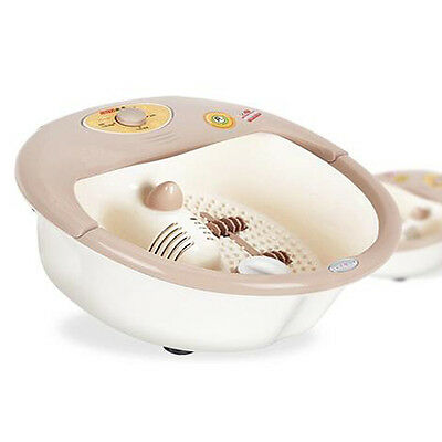 New GOOD TIME Foot Bath Spa Massager Bubble with Water Heater Feet Care Therapy