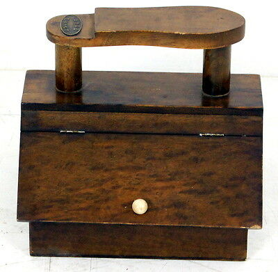 A Very Good Unusual Antique Shoe Shine Box
