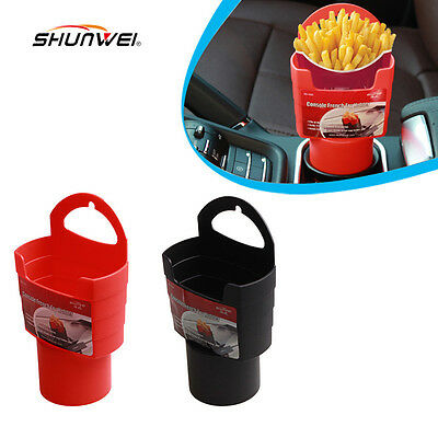 New Cup Holder French Fries Drink Beverage Seat Car Auto Truck Universal Mount