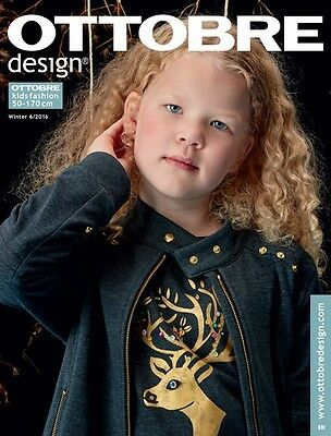 Ottobre Design magazine Winter 2016  issue 6/2016 - FREE shipping