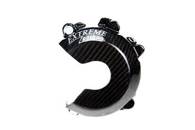 Carbon / Kevlar Ignition Cover Guard Ktm 350 250 Exc-F / Xcf-W 2012 - 2016