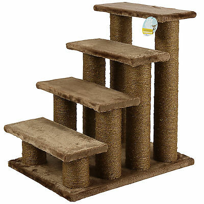 Sale Me & My Brown Pet Stairs Cat/puppy Steps/ramp Soft Climb Aid Exdisplay #717