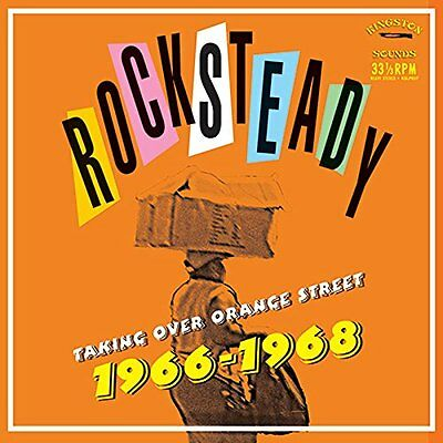 Rocksteady Taking Over Orange Street 66-68 Lp Vinyl New 33Rpm