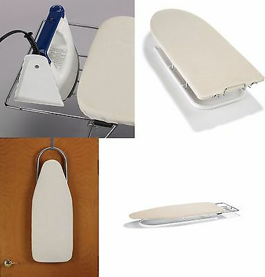 Polder Deluxe Ironing Board Compact Padded Table Top Tabletop with Iron Rest
