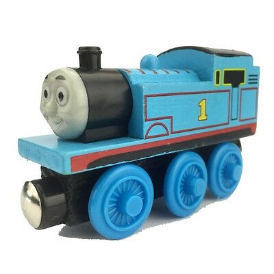 Thomas & Friends Wooden Magnetic Tank Engine Railway Train Toy Car Gift Hot .