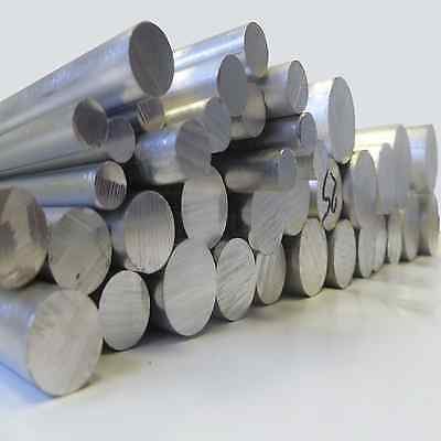 ALUMINIUM ROD SOLID ROUND BAR BILLET  8, 10, 12, 15,20, 25, 30, 40mm