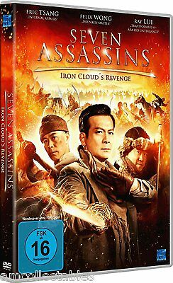 DVD - Seven Assassins - Iron Cloud `S Revenge - Nuevo / Embalaje Original
