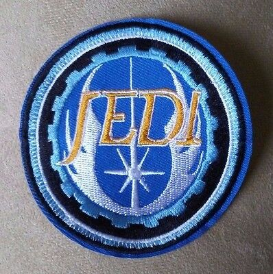 "3"" Star Wars JEDI Order Iron-on PATCH! Lightsaber/Luke Skywalker/Yoda"