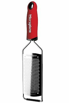 Microplane GOURMET Series FINE GRATER - RED Handle