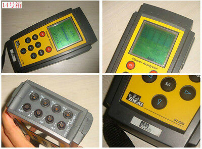 IDEAL 61-805 Power Quality Analyzer W/O 1000A AC Clamp Adapter and Test leads