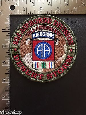 US ARMY 82nd AIRBORNE DIVISION DESERT STORM PATCH