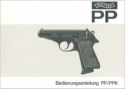 Walther Pp, Ppk Pistol Instruction Manual On A Cd
