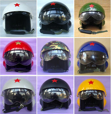 CHINESE AIR FORCE JET PILOT FLIGHT HELMET color can choose