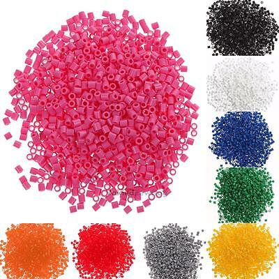 New 2.6mm HAMA BEADS for Children Gift GREAT Kids Great Fun Toy HOT 1000pcs
