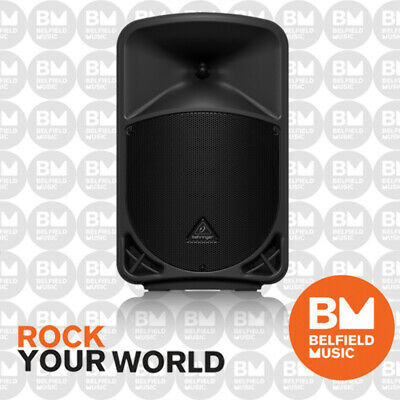 "Behringer EUROLIVE B110D Powered Speaker Active 300W 2-Way 10"" PA System - BNIB"
