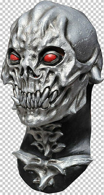Mask Head & Neck - Cosplay Halloween Dress Up Party Costume - Skull Destroyer