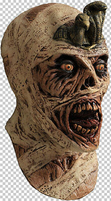 Mask Head - for Cosplay Halloween Dress Up Party Costume - Cursed Mummy