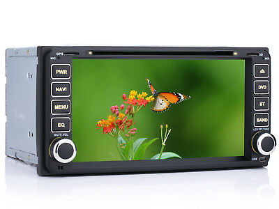 "7"" HD Autoradio GPS Navigation RDS MP3 Bluetooth Radio Für Toyota RAV4 Vios Vitz"
