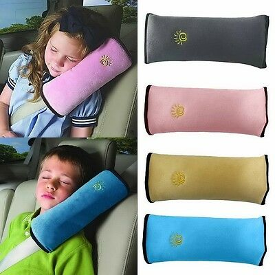 Safety Kids Shoulder Seat Belt Child Cushion Pad Car Strap Cover Harness Pillow