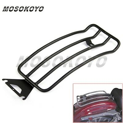Steel Luggage Rear Fender Solo Seat Rack For Road King Glide Tourin1998-04 AU