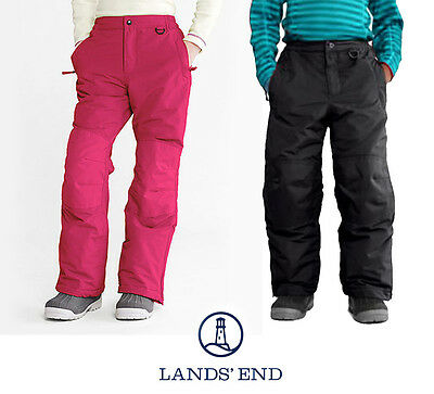 Lands End Squall Ski Pants Snow Board Waterproof Thermal Trousers Salopettes