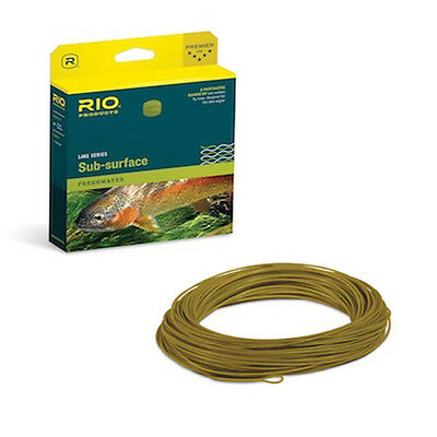 Rio Sub – Surface Freshwater Hover Fly Line WF S1