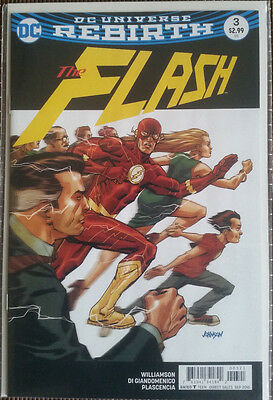 DC Universe Rebirth: THE FLASH #3 VARIANT COVER1st Printing NEW  SOLD OUT