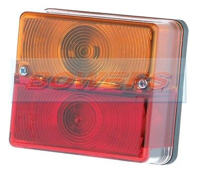 Britax 9088 Square Rear Stop/tail/indicator Light Lamp Ifor Williams Trailer
