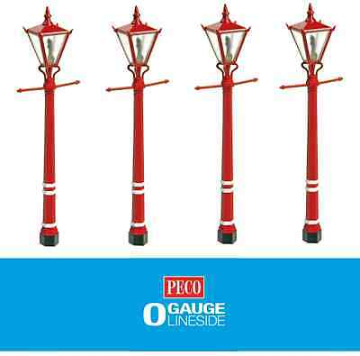 Peco LK-759 Pack of 4 Station Platform Lamps O Gauge Kit