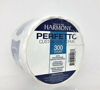 Hand & Nail Harmony - Perfetto NAIL FORMS - 300 counts