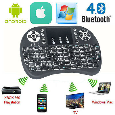 2.4GHz Fly Air Mouse Wireless Keyboard Remote For PC Android TV BOX BACKLIGHT