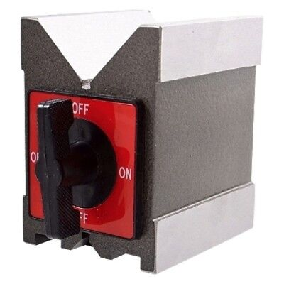 3.75 X 3 X 6 Magnetic V-Block With Switch (3402-0993)
