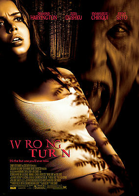 Wrong Turn (2003) - A1/A2 POSTER **BUY ANY 2 AND GET 1 FREE OFFER**
