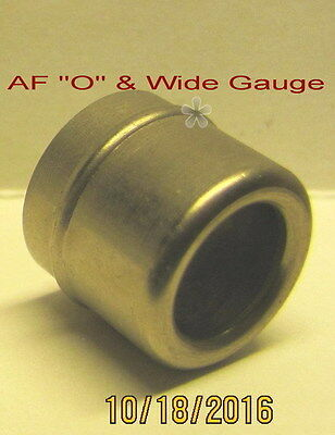 "American Flyer Chicago ""O"" & Wide gauge, Headlight Ferrule (Nickel)"