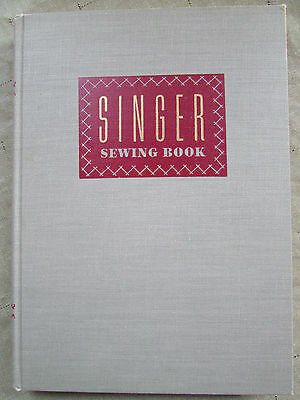 SINGER SEWING BOOK 1949 Mary Brooks Picken Illustrated Instructions Patterns