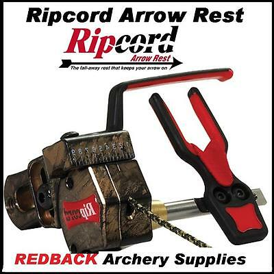 Ripcord Camo LEFT Hand Code Red Drop Away Arrow rest  for compound bows