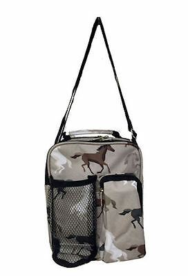 Horse & Western Travel School Home Horses Day Pack Lunch Bag Horses Print