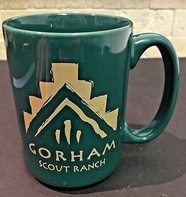 GORHAM SCOUT RANCH BSA Cub Boy Scouting Tea Coffee Mug New Mexico